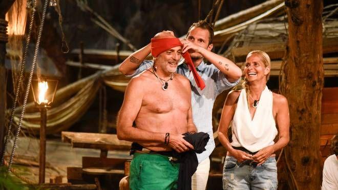Paolo Brosio, Alvin e Grecia Colmenares (Frezza La Fata)