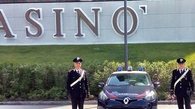 I carabinieri a Campione d'Italia