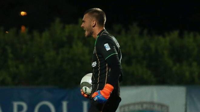 Livieri non è riuscito ad anticipare Maistrello in occasione dello spunto dell'1-0