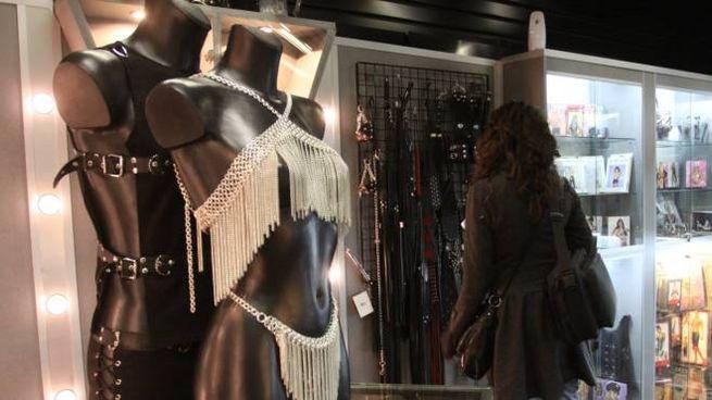 Un sexy shop (foto di repertorio Newpress)