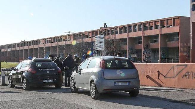 Pesaro, maxi rissa al Campus: intervengono le forze dell'ordine (Fotoprint)