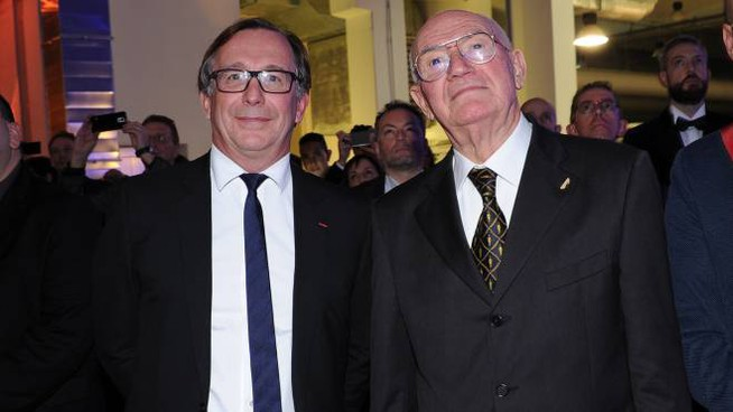Bruno Pawlowski, amministratore delegato di Chanel, e Giovanni Roveda
