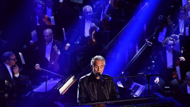Andrea Bocelli al Festival di Sanremo