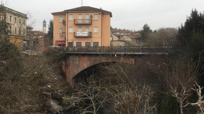 Il ponte sul Lambro meridionale a Sant'Angelo Lodigiano