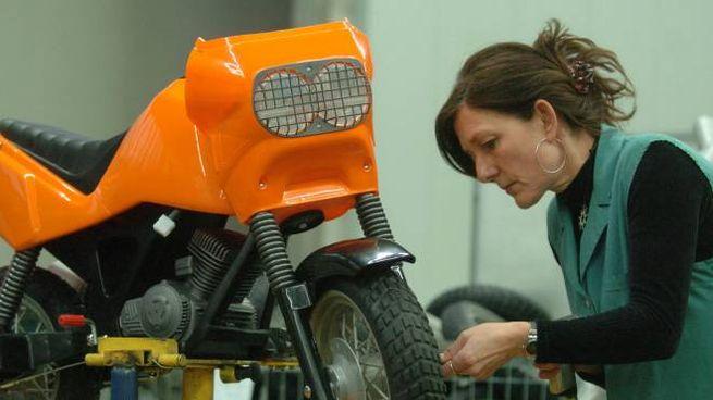 Oltre ai passeggini e ai seggiolini la Peg-Perego realizza auto e moto elettriche per bambini (Rossi)