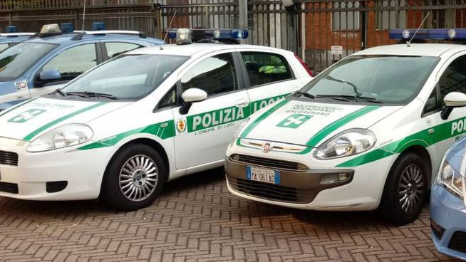 La polizia locale di Mulazzano e Galgagnano