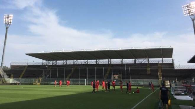 Lo stadio Zini di Cremona