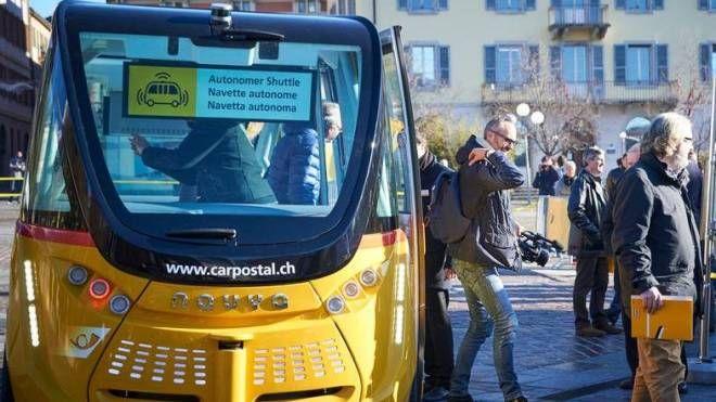 Bus senza autista