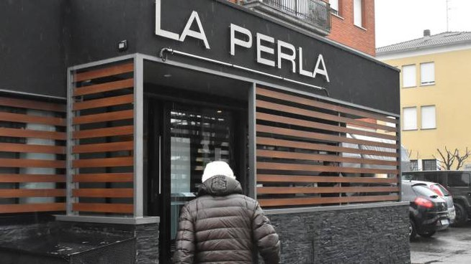 La pizzeria La Perla a Cadelbosco