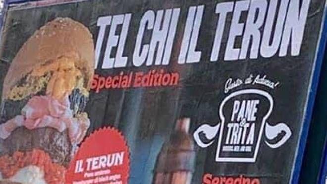 Il panino 'terun'