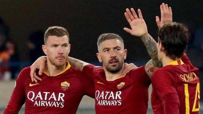 La Roma vince col Chievo a Verona (Ansa)