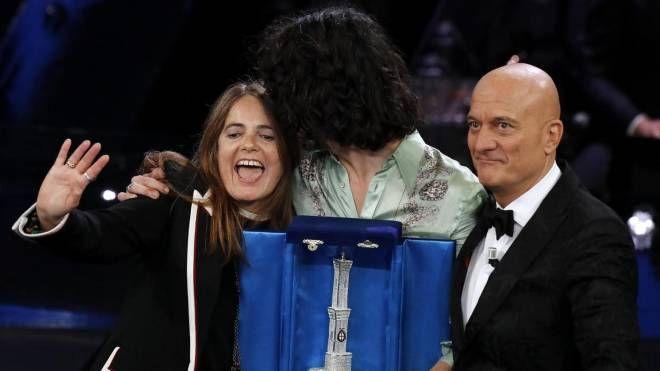 A Motta-Nada il premio come miglior duetto (Ansa)