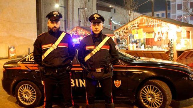 I carabinieri sono stati avvertiti da alcuni residenti svegliati dal rumore assordante