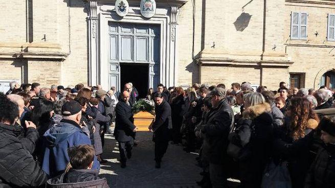 Funerale di Domenica Bassotti, chiesa gremita