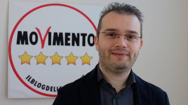 Daniele Vergini, candidato del Movimento 5 Stelle (foto Frasca)