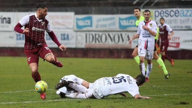 """Pedrelli a terra. Il Gubbio esce sconfitto dal """"Barbetti"""""""