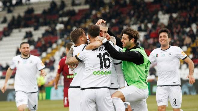 La gioia per il gol di Galabinov