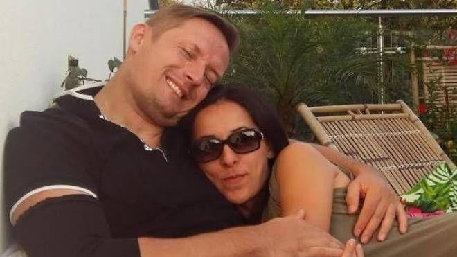 Patrick Majda e la fidanzata Luciana Grieco