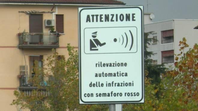 Il segnale del rilevamento al semaforo