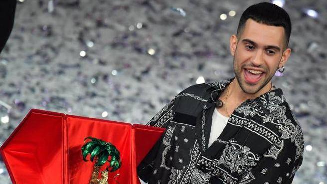Mahmood è il vincitore del Festival di Sanremo 2019 (Ansa)