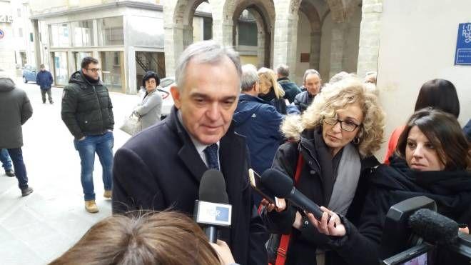 Enrico Rossi a Pieve Santo Stefano