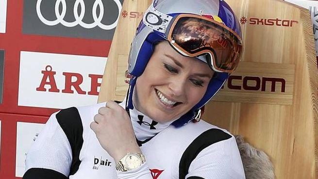 Lindsey Vonn (Ansa)