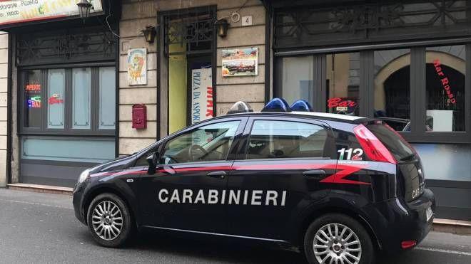 Sul posto i carabinieri
