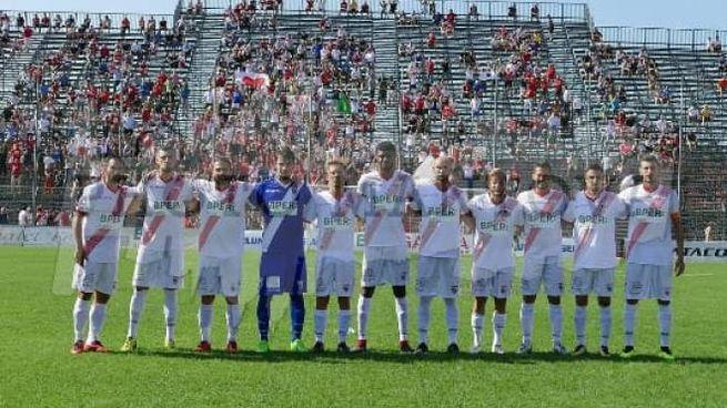 """La squadra biancorossa è stata seguita al """"Senigallia"""" da circa mille tifosi virgiliani"""
