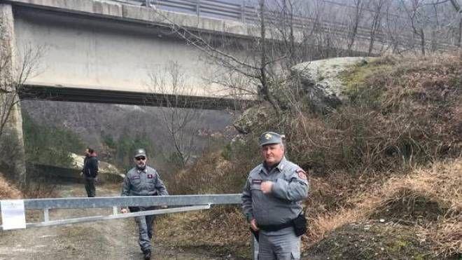 Il viadotto Puleto sulla E 45