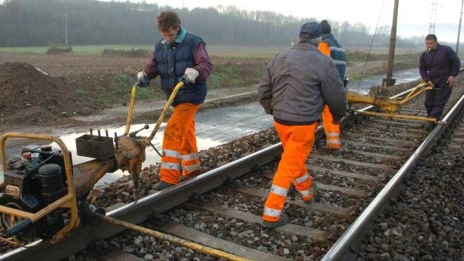 Oltre ai lavori  sui binari presto partiranno anche le opere per la realizzazione del tunnel da 25 metri