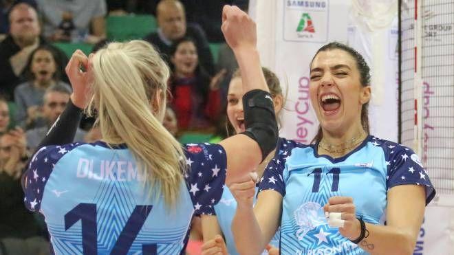 Volley, Bisonte-Busto Arsizio (Germogli)
