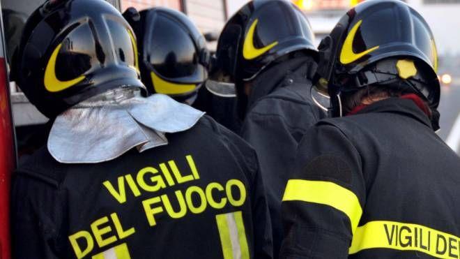 Vigili del fuoco (foto Fantini)