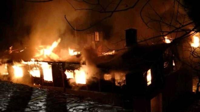 L'incendio di Borno