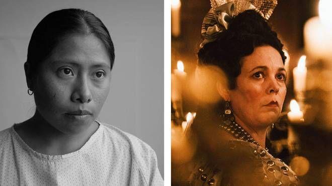 Scene da 'Roma' e 'La favorita' – Foto: Netflix e Atsushi Nishijima/Fox Searchlight
