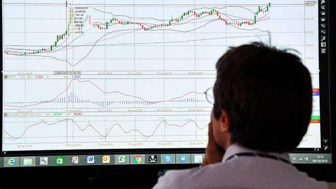 Indici di Borsa (Ansa)