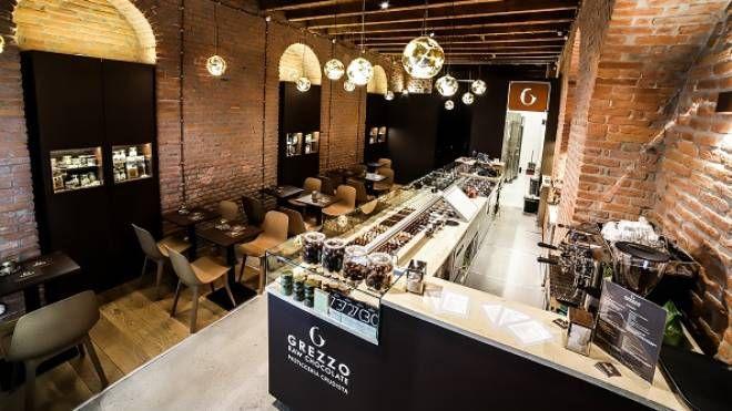 Il locale di Grezzo Raw Chocolate a Milano