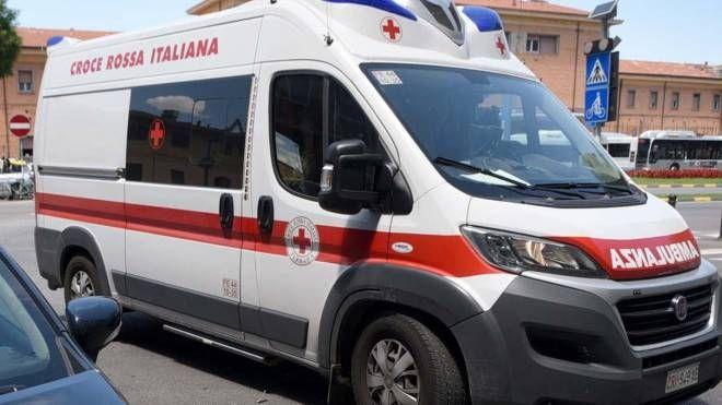 Incidente tra Tresignana e Jolanda di Savoia, sul posto il 118 (foto archivio Bp)