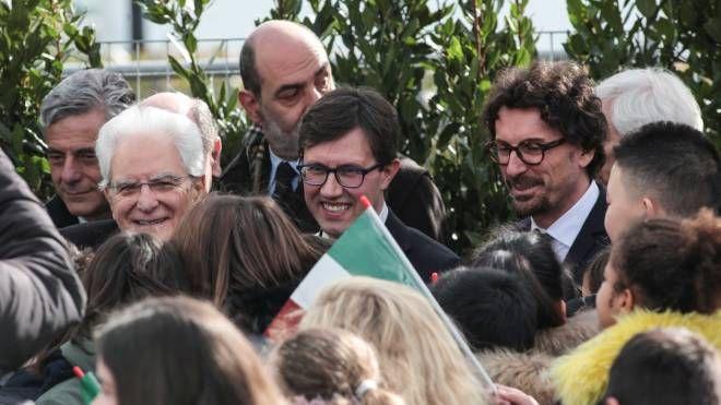 Toninelli con il sindaco Nardella (New Press Photo)