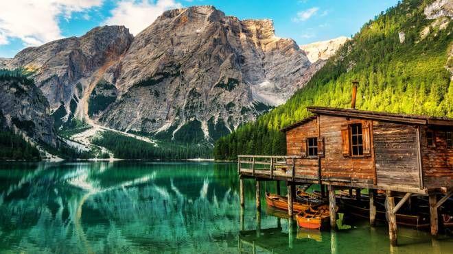 Il lago di Braies in Alto Adige