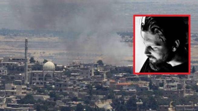 Guerra in Siria, nel riquadro Gabriele Micalizzi