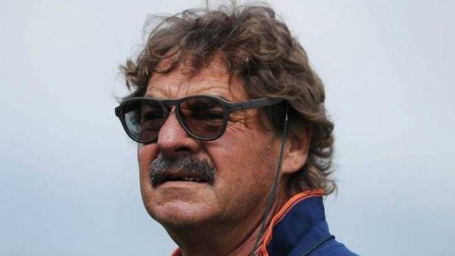 L'allenatore biancorosso Massimo Morgia