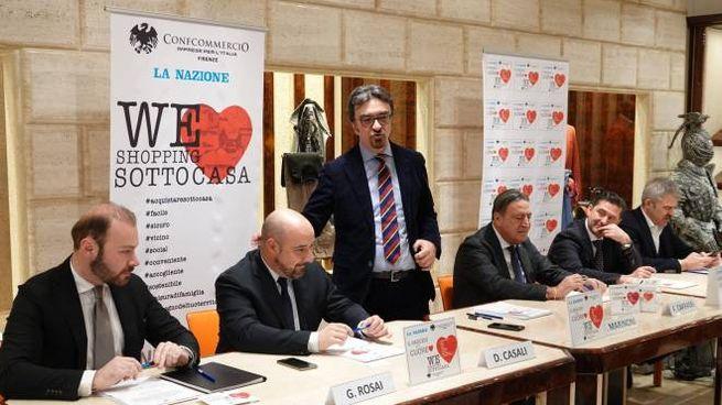 La presentazione dell'iniziativa (New Press Photo)