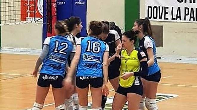 Il Blu Volley sul campo di Capannori