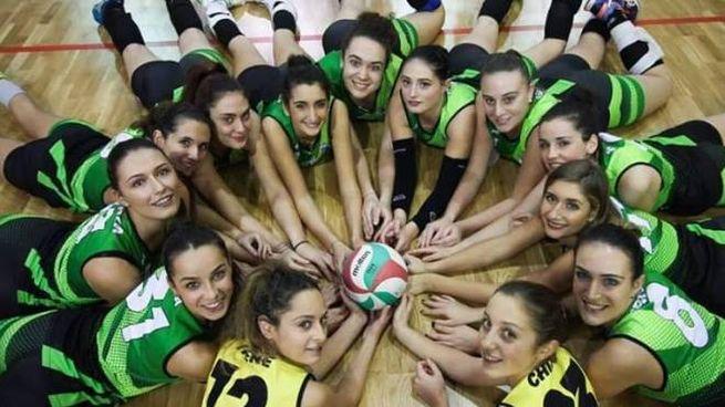 Le pallavoliste del Volley Aglianese, quinte in graduatoria