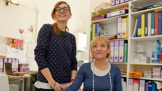 Le responsabili della struttura. Da sinistra Laura Servidati e Marta Ferrari