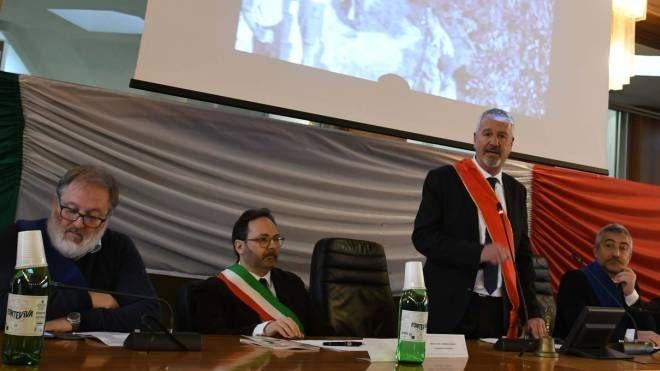 Il presidente del consiglio comunale Stefano Benedetti