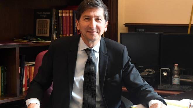 Il questore di Bologna Gianfranco Bernabei