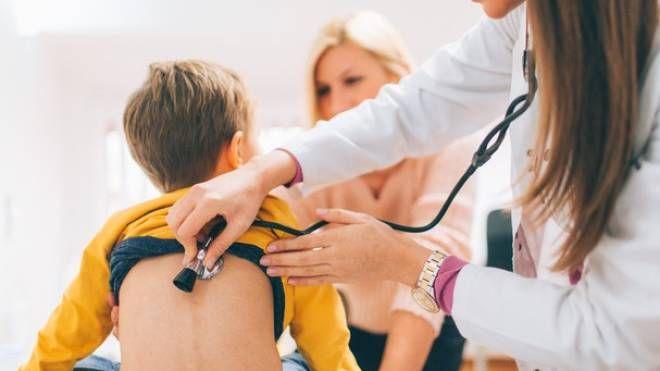 Pediatria, foto di repertorio (Ansa)