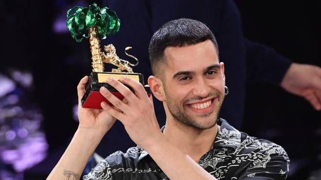 Mahmood, vincitore del 69esimo festival di Sanremo (Lapresse)