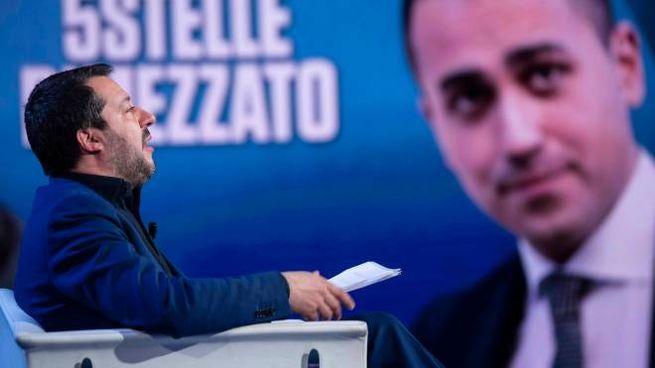 MATTEO SALVINI POLITICOLUIGI DI MAIO POLITICO